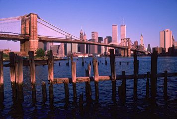 Brooklyn Bridge Piers